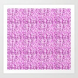 Pink World Art Print
