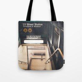 New York City Subway Tote Bag