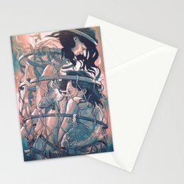 gemini cocoon Stationery Cards