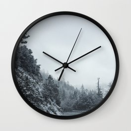 Icy Bliss Wall Clock