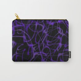 Ultra Violet Purple Wisps Carry-All Pouch