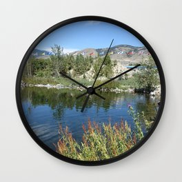Landscape picture of northern BC Wall Clock