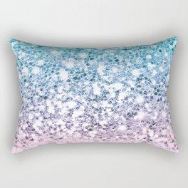 Dazzling Unicorn Gradient  Rectangular Pillow