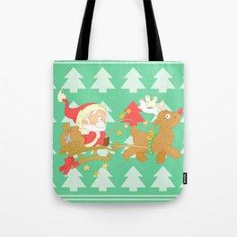 Santa 2014 Tote Bag