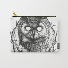 Forest Gods | Owl Carry-All Pouch