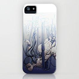 female cyborg iPhone Case
