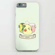 Crazy Bird Lady iPhone 6 Slim Case