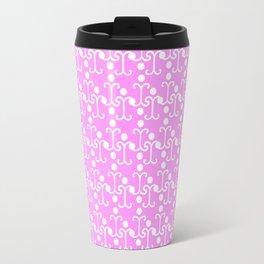 Lattice Pattern (Pink) Travel Mug