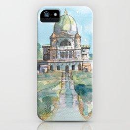 Saint Joseph's Oratory on Mount Royal iPhone Case