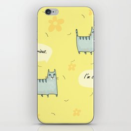 Why So Serious....Cat iPhone Skin