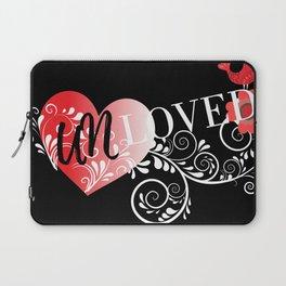 Unloved Dark Laptop Sleeve