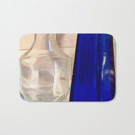 The Blue Bottle Bath Mat
