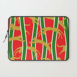 Flying Felines Festive Holiday Romp Laptop Sleeve