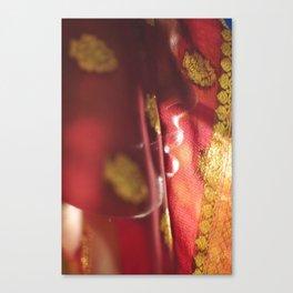 Veiled Beauty Canvas Print