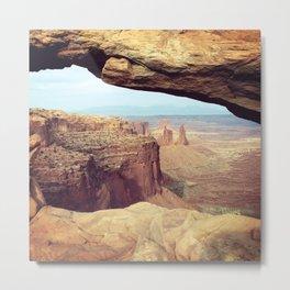 Canyonlands - Scenic Landscape Photo Metal Print