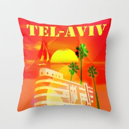 TEL AVIV Throw Pillow