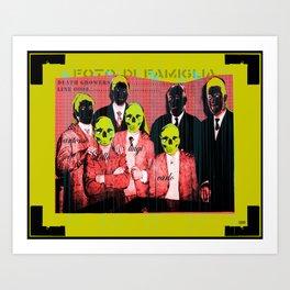 foto di famiglia Art Print