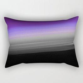 Purple Gray Black Smooth Ombre Rectangular Pillow