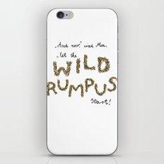 Let the wild rumpus start! iPhone & iPod Skin