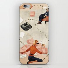 Claire iPhone & iPod Skin
