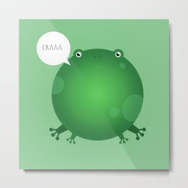 ANIMALS | FROG Metal Print