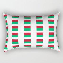 Flag of Madagascar -Malagasy,Madagasikara,Malgache,Bantu,Merina,Antananarivo. Rectangular Pillow