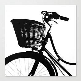 Vintage Bicycle Decor | Bicyclist | Biking Life | Bicycle Art Canvas Print