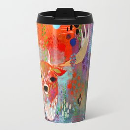The Deer in the Thicket Travel Mug