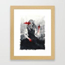 x See No Evil x Framed Art Print