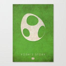 Yoshis Story - Nintendo 64 Minimalist Canvas Print