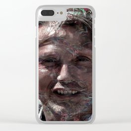 MADS MIKKELSEN Clear iPhone Case