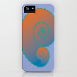 Koral Koru iPhone Case