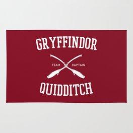 Hogwarts Quidditch Team: Gryffindor Rug