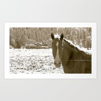 rustic Art Prints featuring Rustic by Stormy Mae