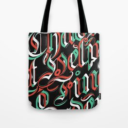 CHAOS - (color) Tote Bag