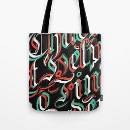 CHAOS - (color) Tote Bag