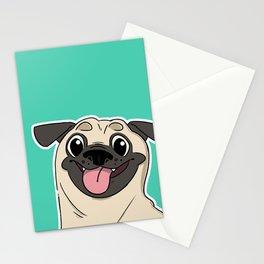 Perky Pug Stationery Cards