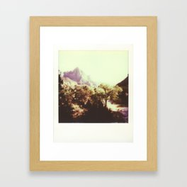 Zion National Park Framed Art Print