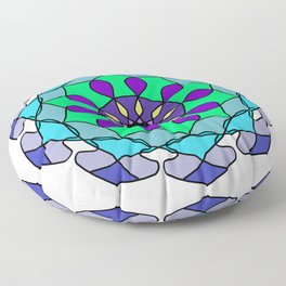 An aid to meditation exercises Floor Pillow