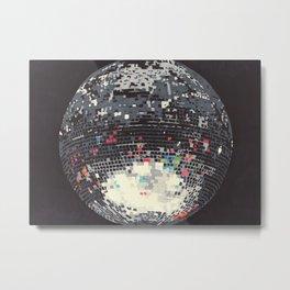 Disco Metal Print