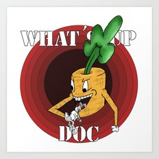 What's Up Doc Art Print