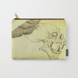 Winged Skull Carry-All Pouch