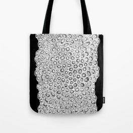 transverse coral pattern Tote Bag