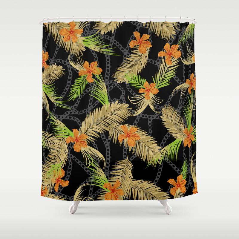 Exotic Garden Shower Curtain by Eduardodoreni CTN8275288