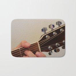 Guitar Player Bath Mat