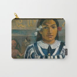 The Ancestors of Tehamana Carry-All Pouch