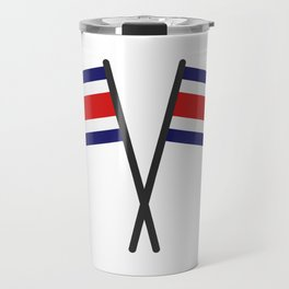 costa rica flag Travel Mug