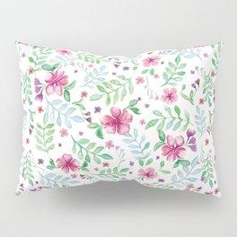 White spring Pillow Sham