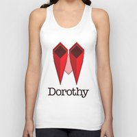 dorothy Tank Tops featuring Dorothy by Winter Graphics