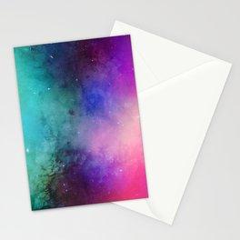 Mystical azure galaxy Stationery Cards